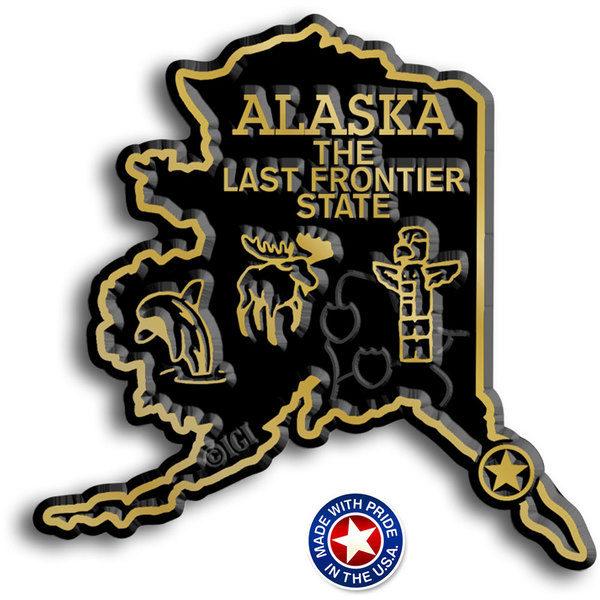 Alaska Map Magnet