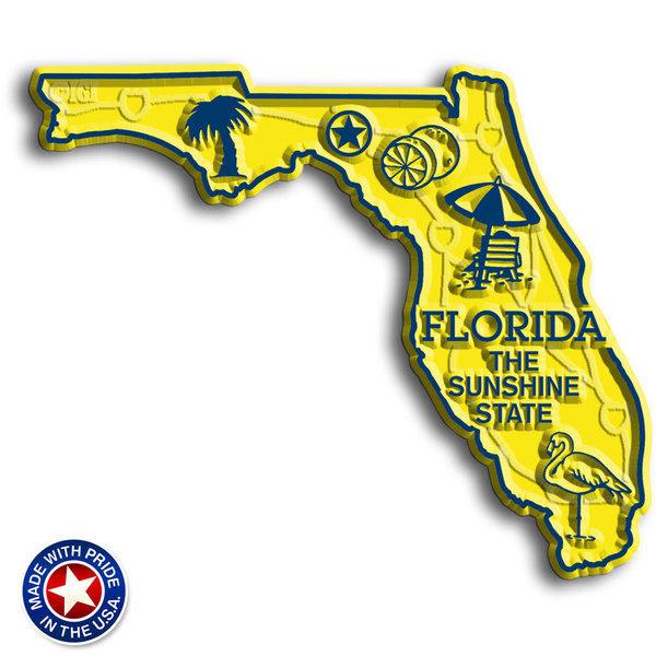 Florida Map Magnet