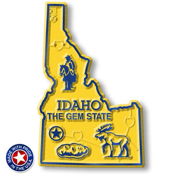 Idaho Map Magnet