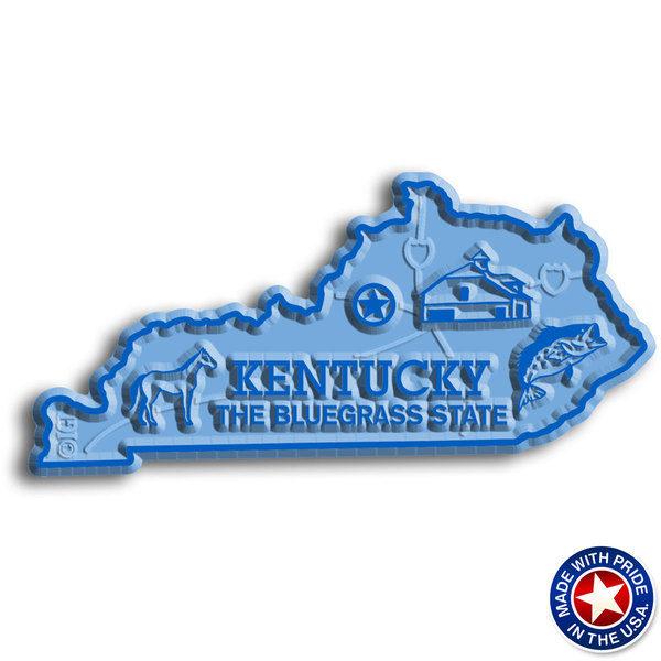 Kentucky Map Magnet