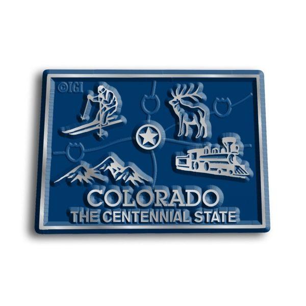 Colorado Map Magnet