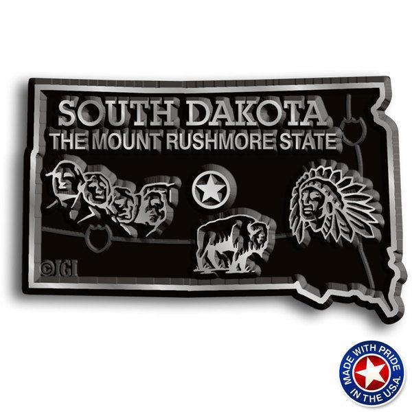 South Dakota Map Magnet